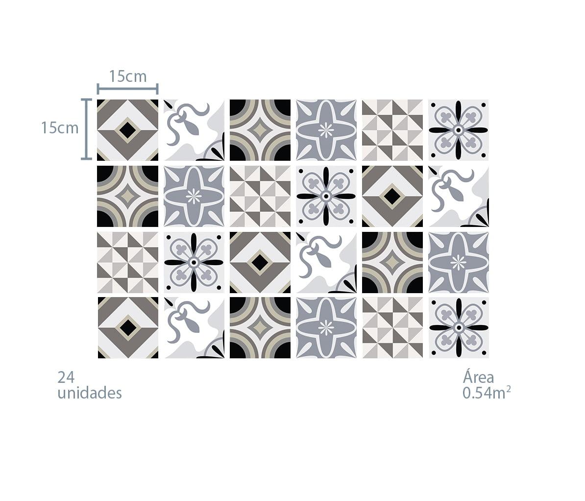Azulejo Adesivo Formas