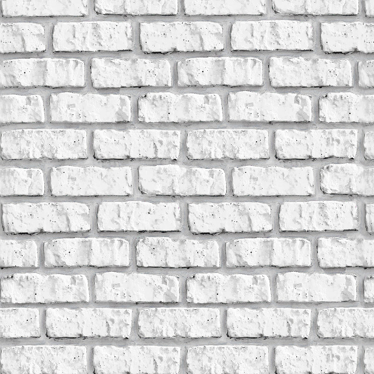 Rolo Adesivo Tijolo Branco