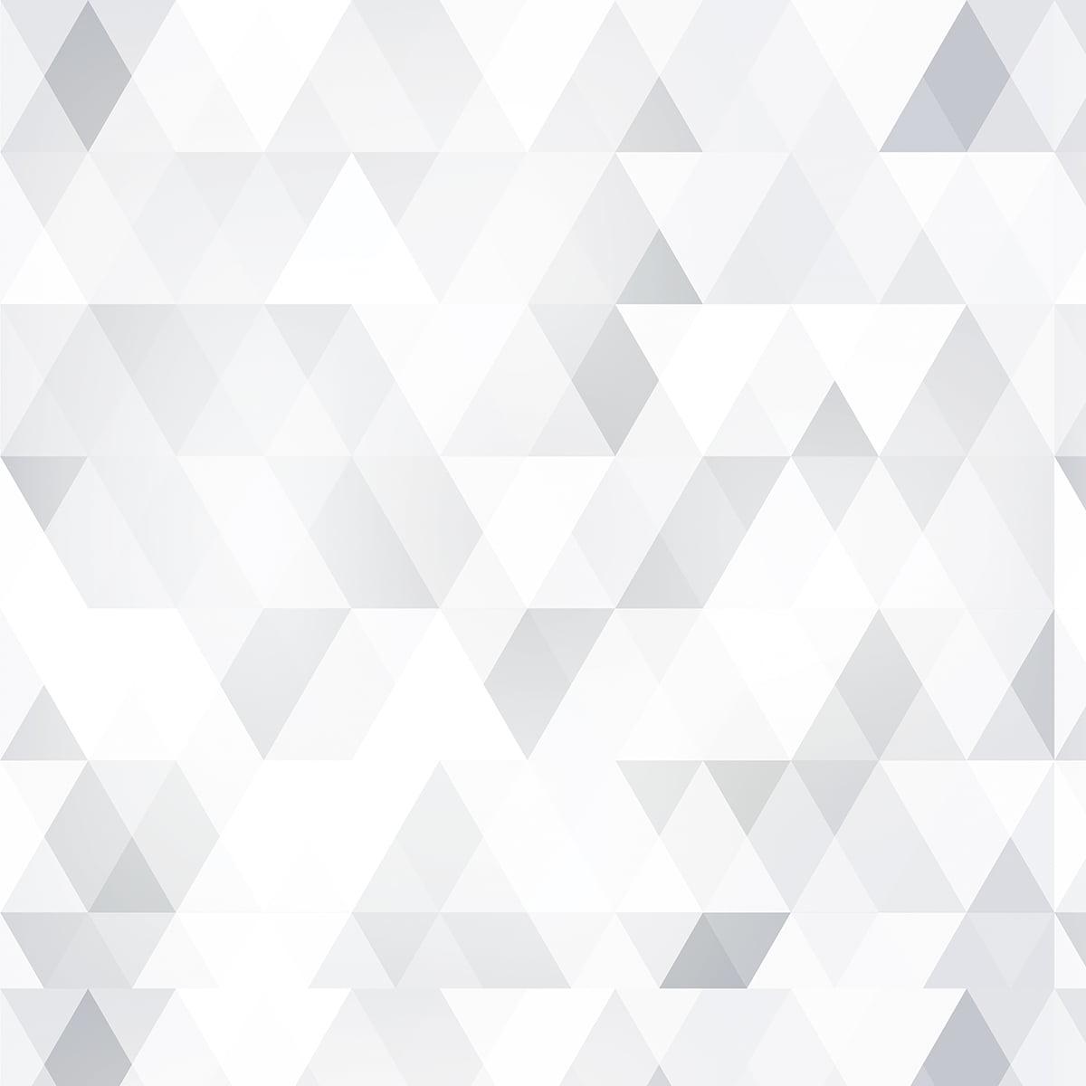 Rolo Adesivo Triangulo Cinza Claro