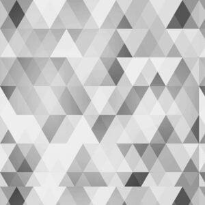 Rolo Adesivo Triangulo Cinza