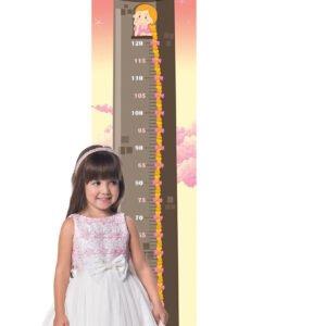 Régua de Crescimento Infantil Princesa Rapunzel