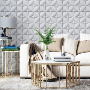 Adesivo de parede Pétalas 3D Dcorando