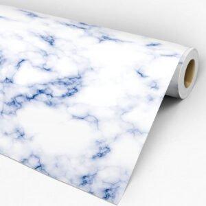 Adesivo de Parede Dcorando Coleção Ambiente Decorado Mármore Azul