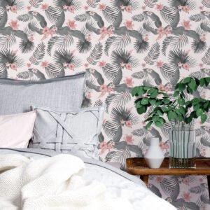 Adesivo de Parede Dcorando Floral flores rosas