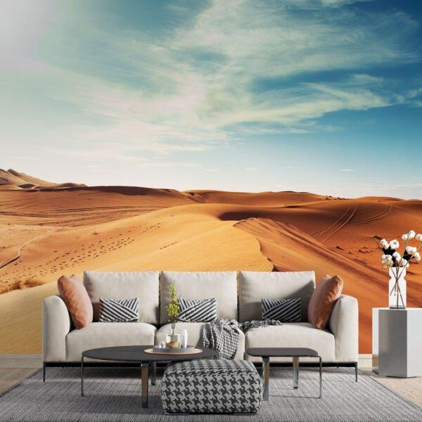 Painel Fotográfico Dcorando Dunas Deserto do Sahara