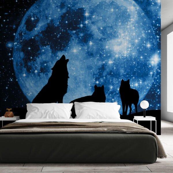 Painel Fotográfico Dcorando Lobos ao estrelar