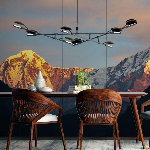 Painel Fotográfico Dcorando Montanhas