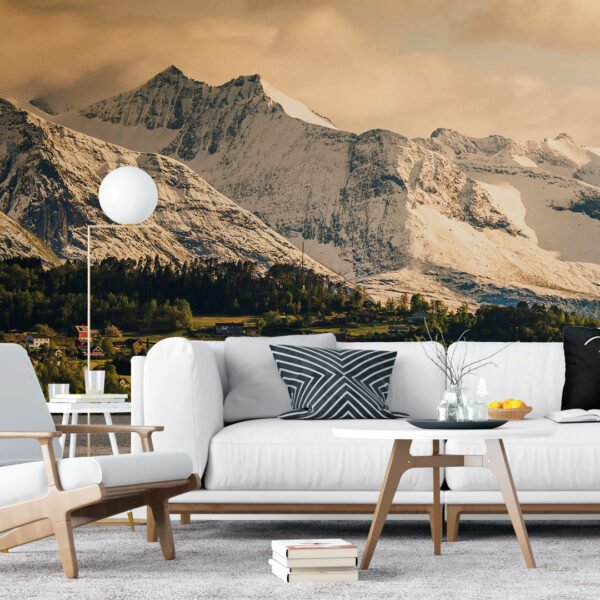 Painel Fotográfico Dcorando Mountain Scandinavian
