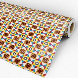Adesivo Dcorando de Pastilha Multicolor