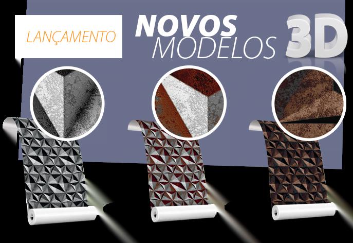 lançamento dcorando novos produtos 3D