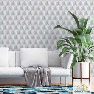 Dcorando Coleção Ambiente Decorado Cubis White