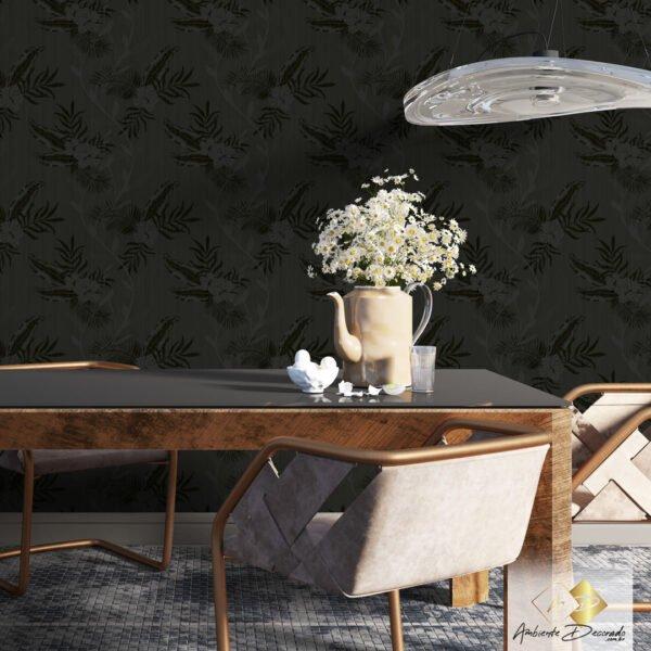 Dcorando Coleção Ambiente Decorado Wood Dream Dark
