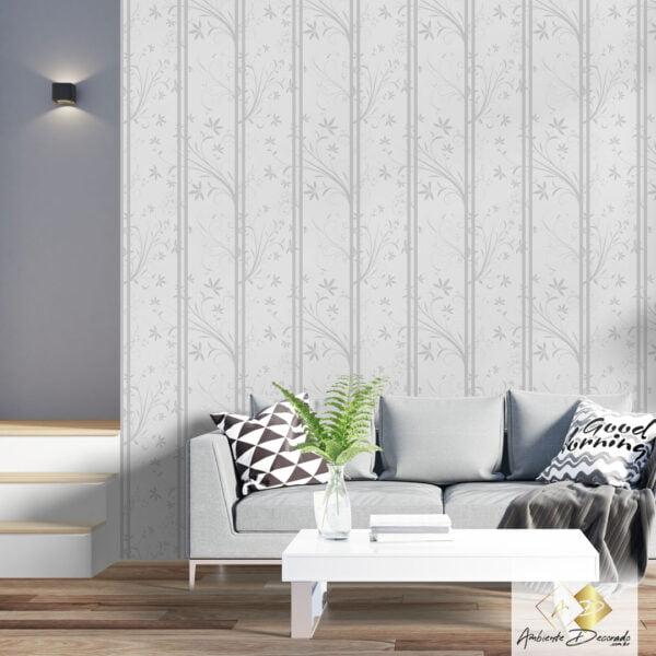 Dcorando Coleção Ambiente Decorado Florais Gray