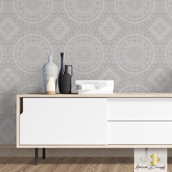 Dcorando Coleção Ambiente Decorado Mandala Clean