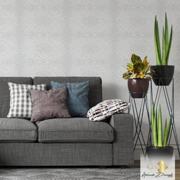 Dcorando Coleção Ambiente Decorado Hex Gray