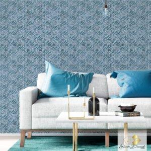 Dcorando Coleção Ambiente Decorado Deep Stone Blue