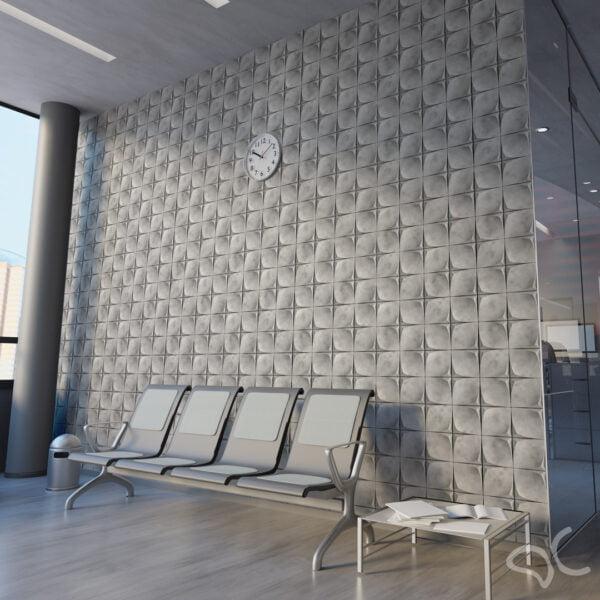 Dcorando Adesivo 3D Cimento Queimado