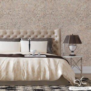 Dcorando Adesivo de parede floral cimento industrial