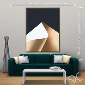 Quadro Abstrato Clean Dcorando