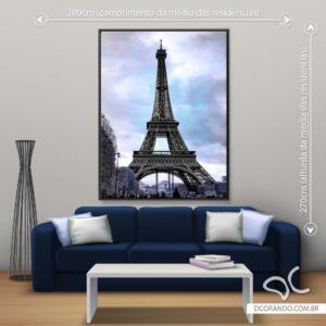 Quadro Torre Eiffel Dcorando