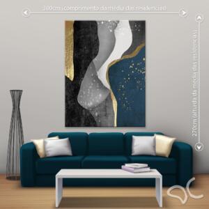 Quadro Abstrato Luxury Dcorando